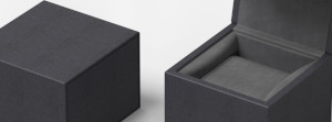 Black Cubic Watch box