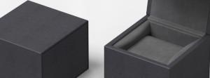 Black Cubic Watch box